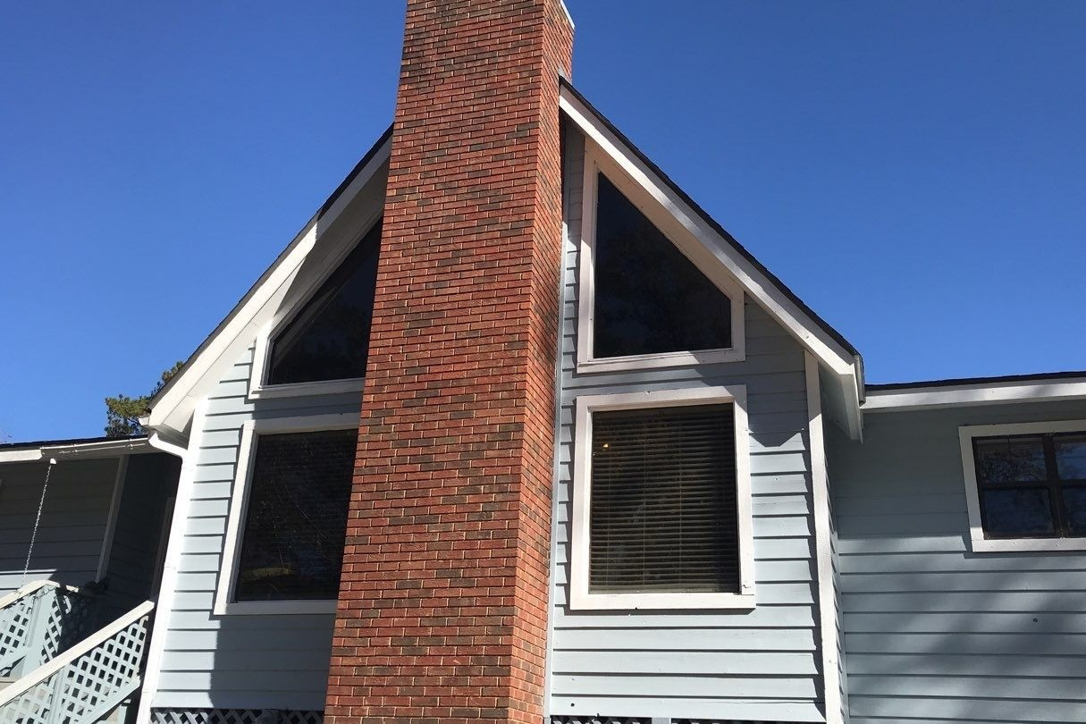 Midway Windows - Before